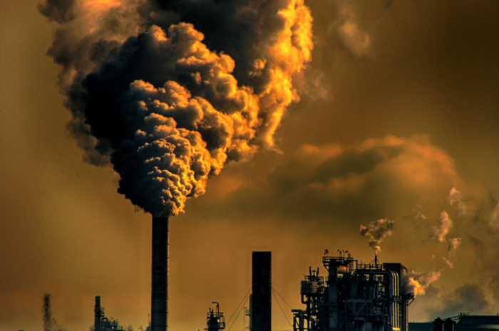 Industrial emissions which is contributing to climate change