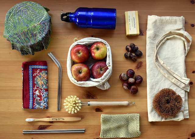 Alternatives to plastic for plastic free July