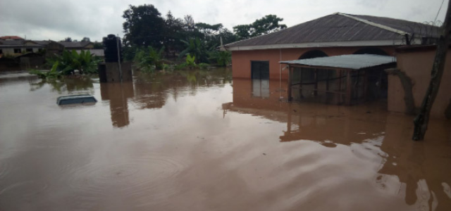Flooding due to extreme weather events